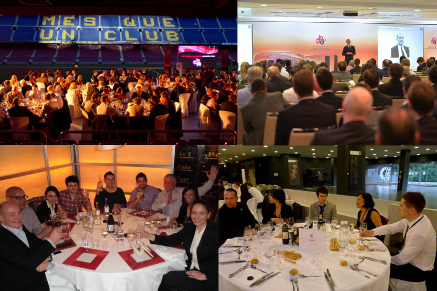 Photos of Glen Wheeler at Networking events in Barcelona, Madrid and Turin