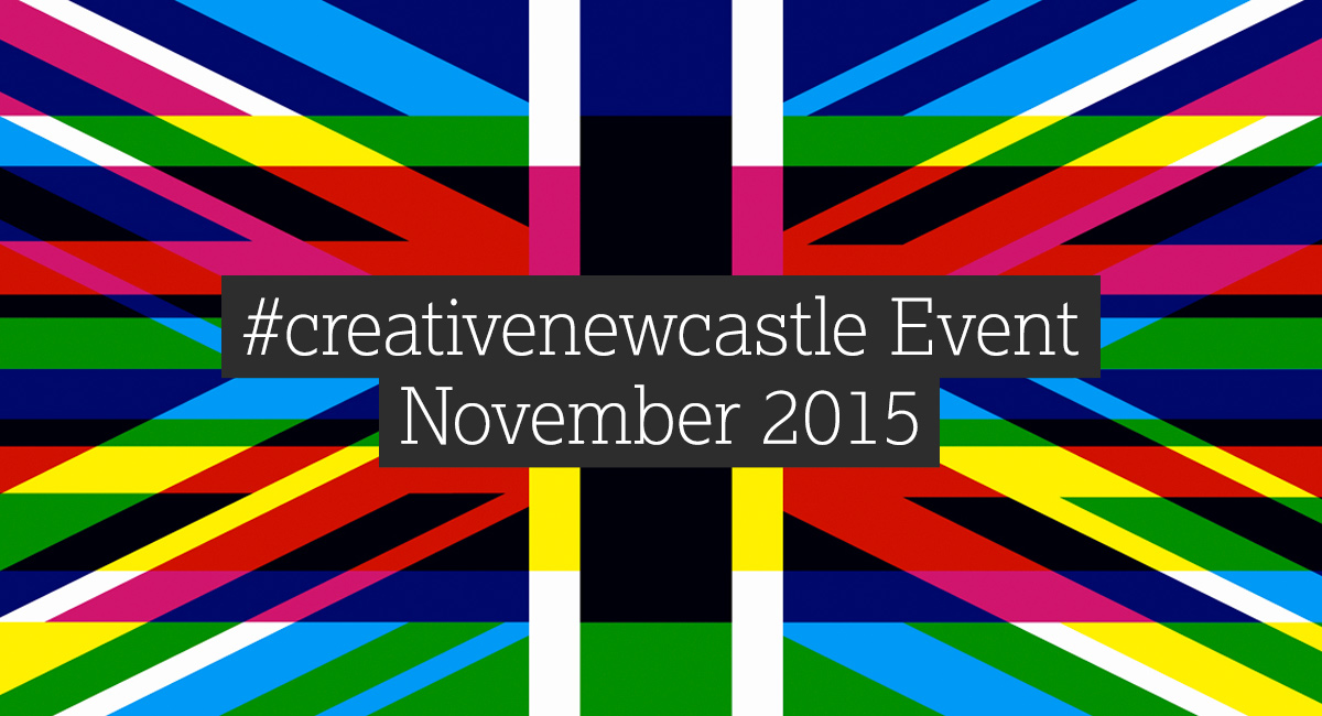 Creative Newcastle Colour Banned With the text written on top #creativenewcastle November 2015